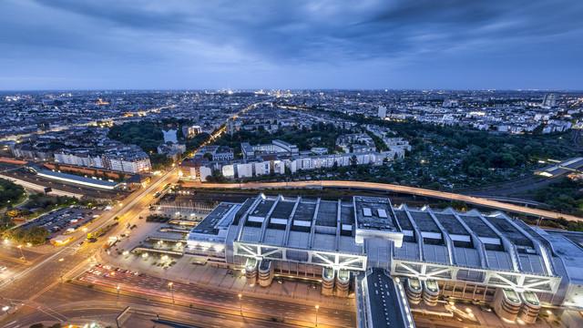 Blick vom Berliner Funkturm - fotokunst von Ronny Behnert