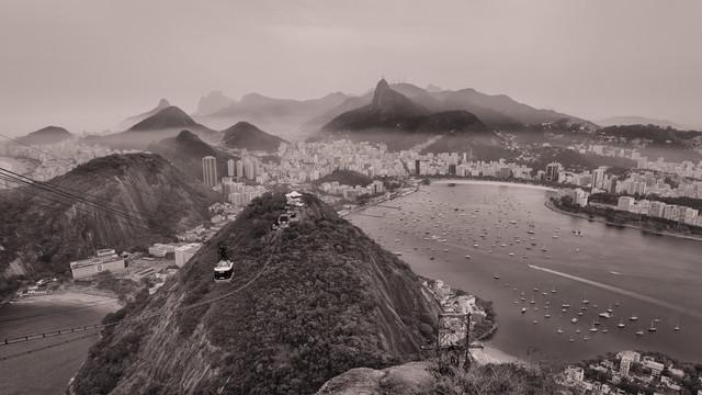 Zuckerhut Panorama Rio De Janeiro - fotokunst von Dennis Wehrmann