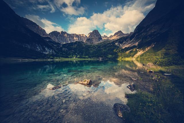 [:] LAKE VIEW [:] - fotokunst von Franz Sussbauer