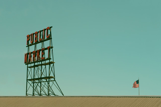 Public Market - fotokunst von Klaus Lenzen