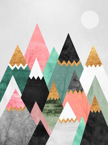 Pretty Mountains - fotokunst von Elisabeth Fredriksson