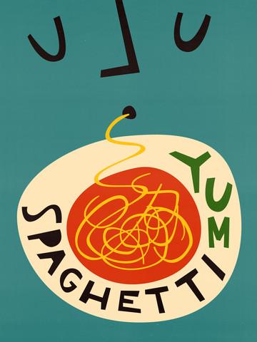 Yum Spaghetti - fotokunst von Fox And Velvet