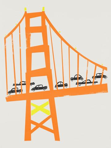 Golden Gate Bridge - fotokunst von Fox And Velvet