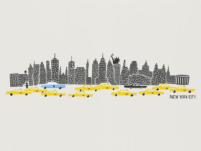 NYC Skyline - fotokunst von Fox And Velvet