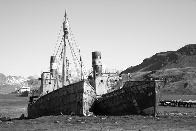 Alte Walfänger - fotokunst von Angelika Stern