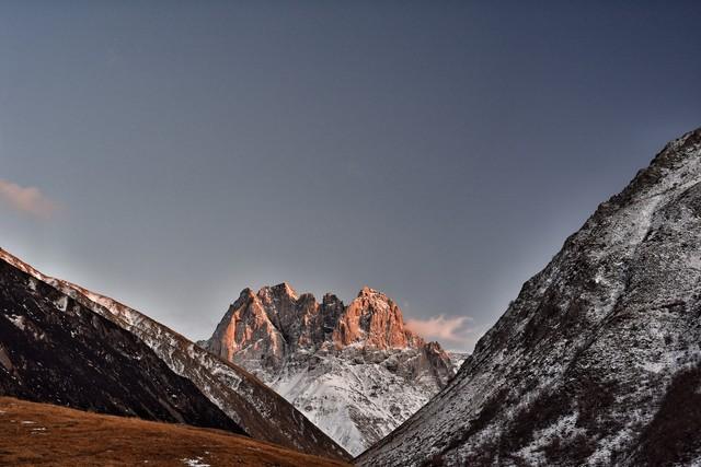 Chauki Massiv - fotokunst von Michael Wagener