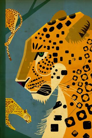 Leopard - fotokunst von Dieter Braun