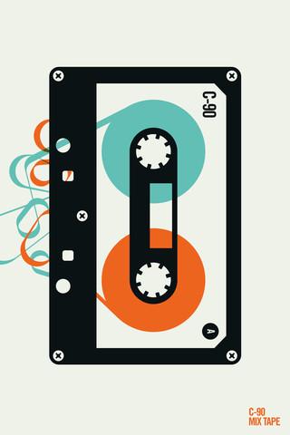 Mix tape - fotokunst von Bo Lundberg