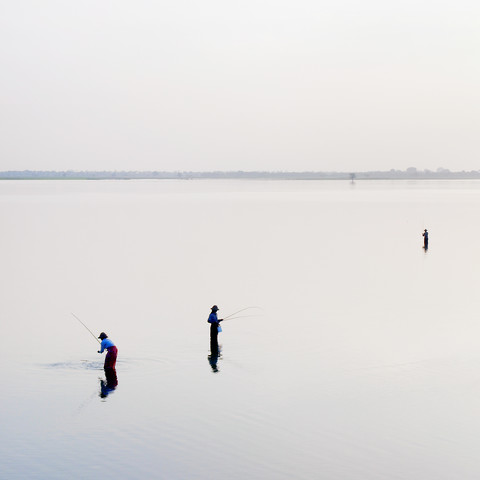 Inle Lake - fotokunst von Nina Papiorek