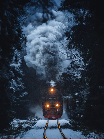 Last Train Home - fotokunst von Maximilian Fischer