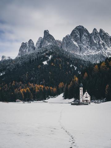 Val di Funes - fotokunst von Silvio Bergamo