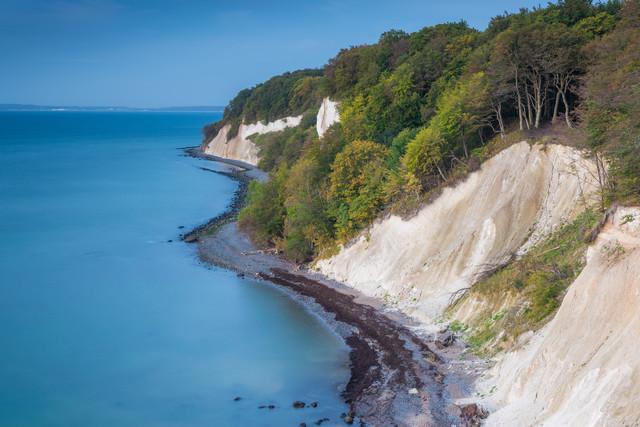 Morgen an der Kreideküste - fotokunst von Martin Wasilewski