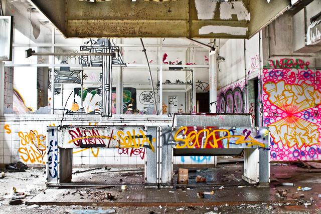 Where is the DJ? - fotokunst von Tim Bendixen