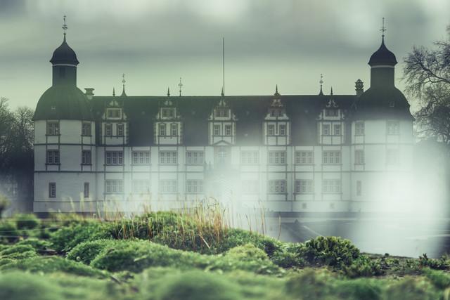 Doppelbelichtung vom Schloß Neuhaus in Paderborn - fotokunst von Nadja Jacke