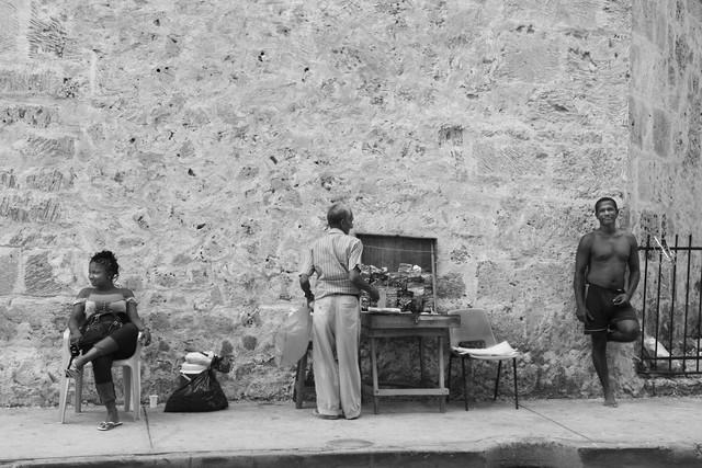 la vida colombiana - fotokunst von Andreas Katzenberger