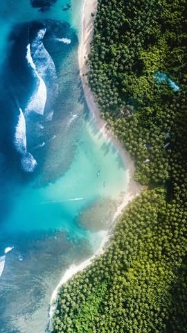 Über der Küste - fotokunst von Christian Hartmann