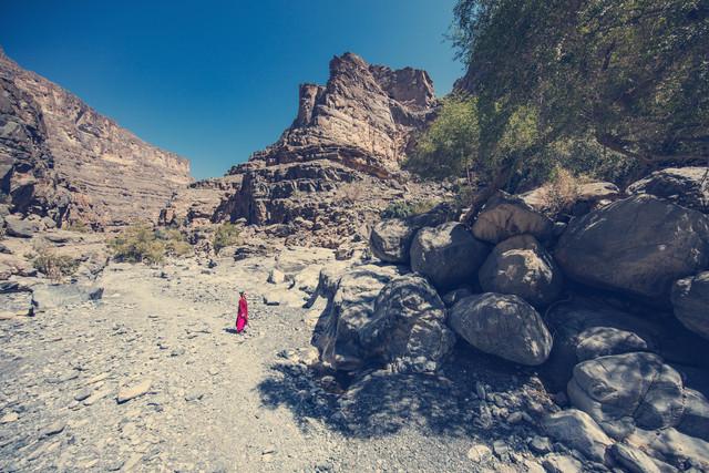 Trockental im Oman - fotokunst von Franz Sussbauer