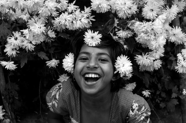Happiness - fotokunst von Sankar Sarkar