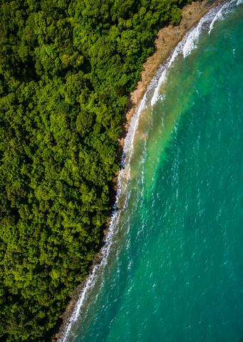Sea vs Jungle Symmetry - fotokunst von Konrad Paruch