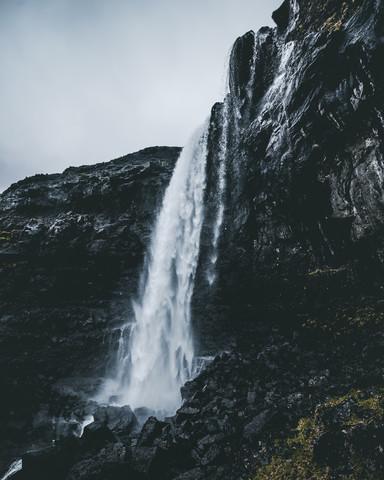 Wasserfall - fotokunst von Dorian Baumann