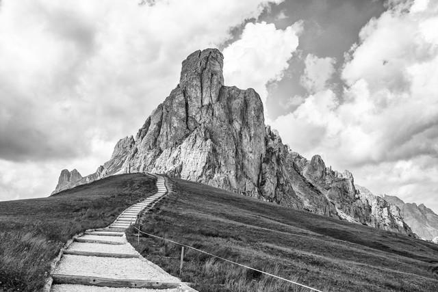 Der lange Weg - fotokunst von Stefan Wensing