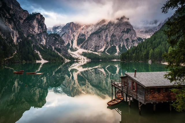 Pragser Wildsee - fotokunst von Heiko Gerlicher