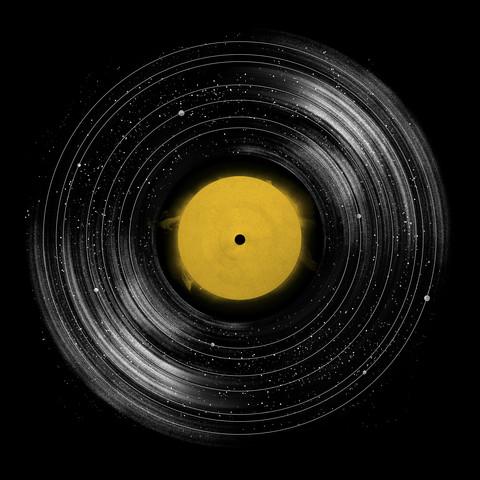 Sound System - fotokunst von Florent Bodart