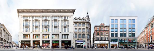 London   Oxford Street 1 - fotokunst von Joerg Dietrich