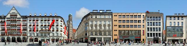 München   Kaufingerstraße - fotokunst von Joerg Dietrich