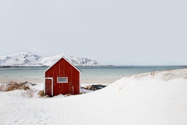 Winterliche Einsameit - fotokunst von Victoria Knobloch