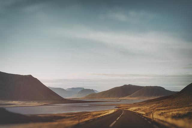 Der Fjord - fotokunst von Pascal Deckarm