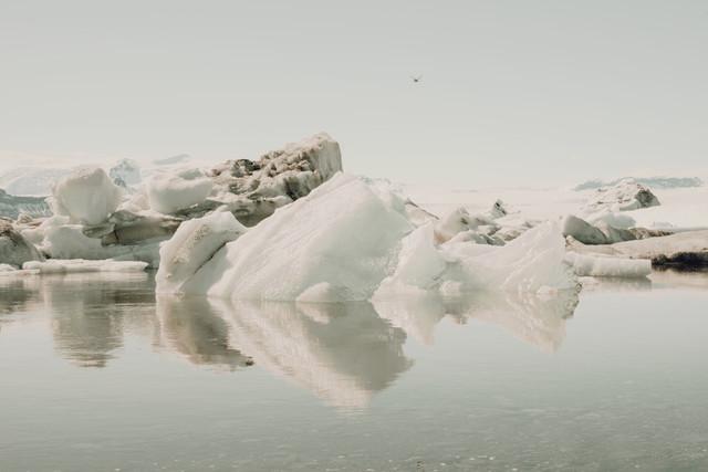 Jökulsarlon III - fotokunst von Pascal Deckarm
