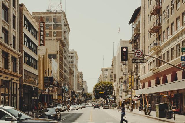 Downtown Los Angeles - fotokunst von Pascal Deckarm