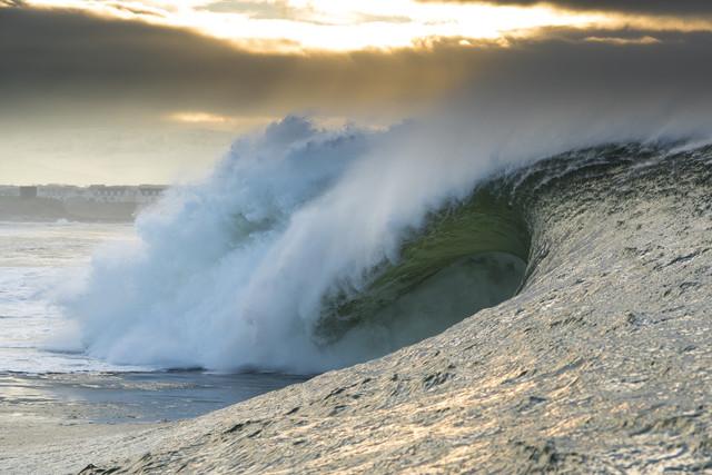 Welle - fotokunst von Lars Jacobsen