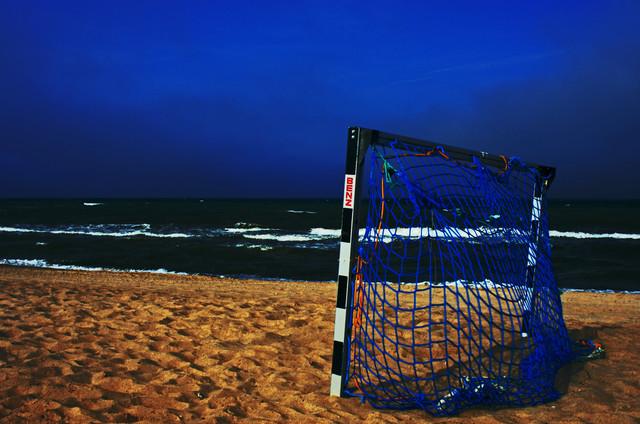 am Strand ist nichts los - fotokunst von Dirk Fricke