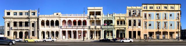 Havanna | Malecon 1 - fotokunst von Joerg Dietrich
