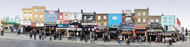 London   Camden High Street II - fotokunst von Joerg Dietrich