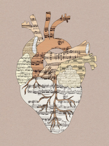 Der Klang meines Herzens II - fotokunst von Bianca Green