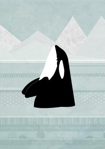 Orca - fotokunst von Katherine Blower