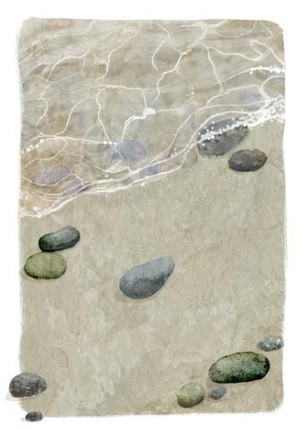 Ocean Waves - fotokunst von Katherine Blower