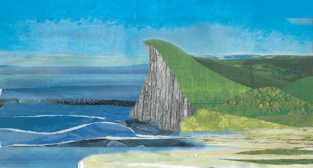 Coastal Landscape - fotokunst von Katherine Blower