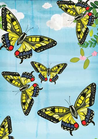 Flutter by Butterflies - fotokunst von Katherine Blower