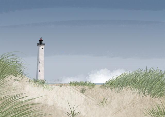 Lighthouse - fotokunst von Katherine Blower