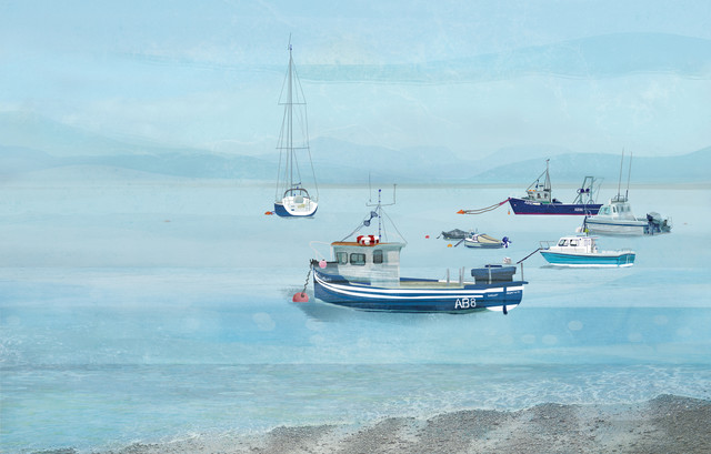 Tywyn Bay - fotokunst von Katherine Blower