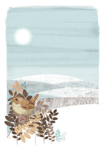 Winter Wren - fotokunst von Katherine Blower