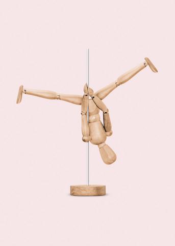 Poledance Mannequin - fotokunst von Jonas Loose