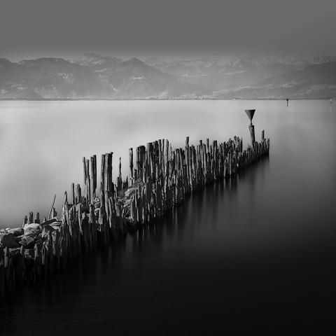 Wasserburg am Bodensee - fotokunst von Ernst Pini