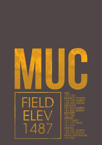 MUC ATC - fotokunst von Ryan Miller
