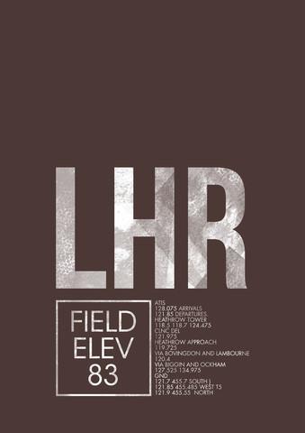 LHR ATC - fotokunst von Ryan Miller
