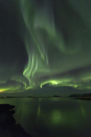 Polarlicht-Spiegelung - fotokunst von Dirk Heckmann